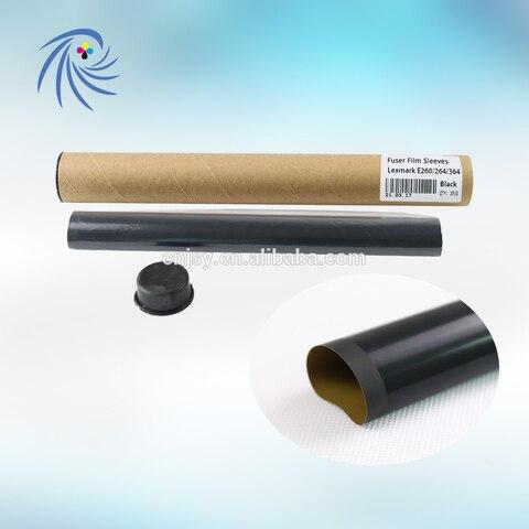 para lexmark e260 e250 e360 e350 e352 e450 e460 fuser film manga 40x2800 film embalagem