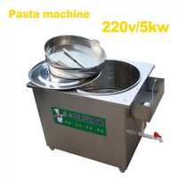 Handmade Liangpi machine 120 sheets / H production yield circle shape cold instant noodle machine maker 220v 5000w 1pc