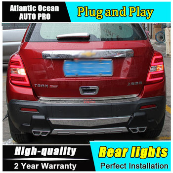 2014 2015 2016 for chevrolet Trax Tracker led taillights for chevrolet Trax LED rear lights car styling trunk lamp parking