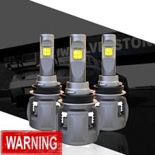 1 компл. H8 H9 H11 120 Вт 15600LM XHP-70 объектив чипы X70 автомобиля светодио дный лампы передних фар лампы H4 H7 9005/6 HB3/4 9012 D1S/D2S/D3S/D4S 6 К