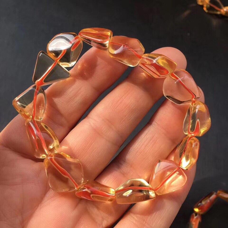 Natural Citrine Quartz Bracelet (2)