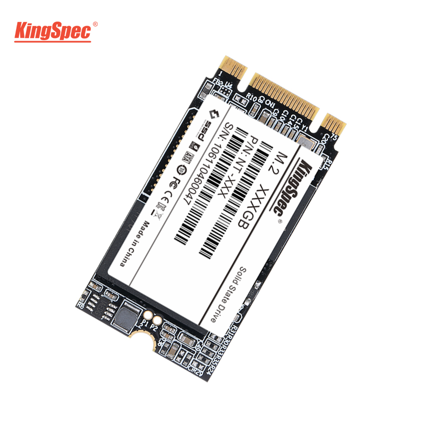 M2 22*42mm SSD 128GB SATAIII KingSpec 6 NT-128 2242 M.2 Gb/s Interno SSD 120GB HD disco Rígido para Laptop/Servidor/Ultrabook/Desktop