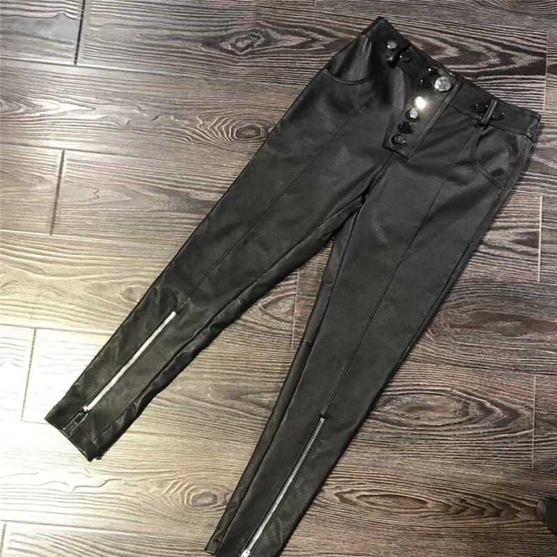 New Womens Leggings Plus Size Ladies Latex Wet Look PVC Pants Nouvelle 12-30