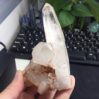 #BH970 Home Decor Stones 264g Quartz Crystal Healing Crystal Cluster Specimen Reiki Wand Stone