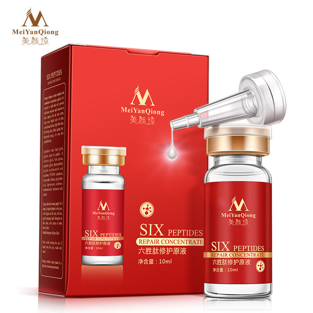 Six Peptides Repair Concentrate Rejuvenation Emulsion Anti Wrinkle Serum For Face Skin Care Products Anti-aging Acid