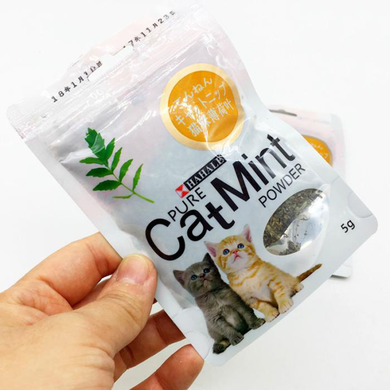 Menthol Flavor Cat Treats Digestive Pet Supplies Promotional Premium Catnip Hot Sale Cat Mint Natural Pet Food Organic Funny Toy 4