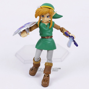 Image 2 - Link A Link Between Worlds Figma EX 032 / Figma 284  PVC Action Figure Collectible Model Toy 2 Types