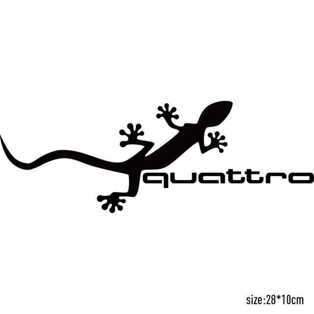 Customization Gecko quattro Car Covers Stickers Car