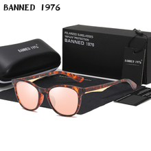 2019 HD Polarized Sunglasses men women UV400 Cool driving shades vintage brand n