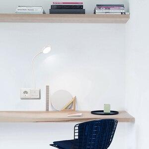 Image 4 - リモコンでプラグフレキシブル Led ベッドサイド読書ナイトランプ調光可能な電源ソケットライト 4 ワットヨーロッパプラグ 1 ランプと 1 レム