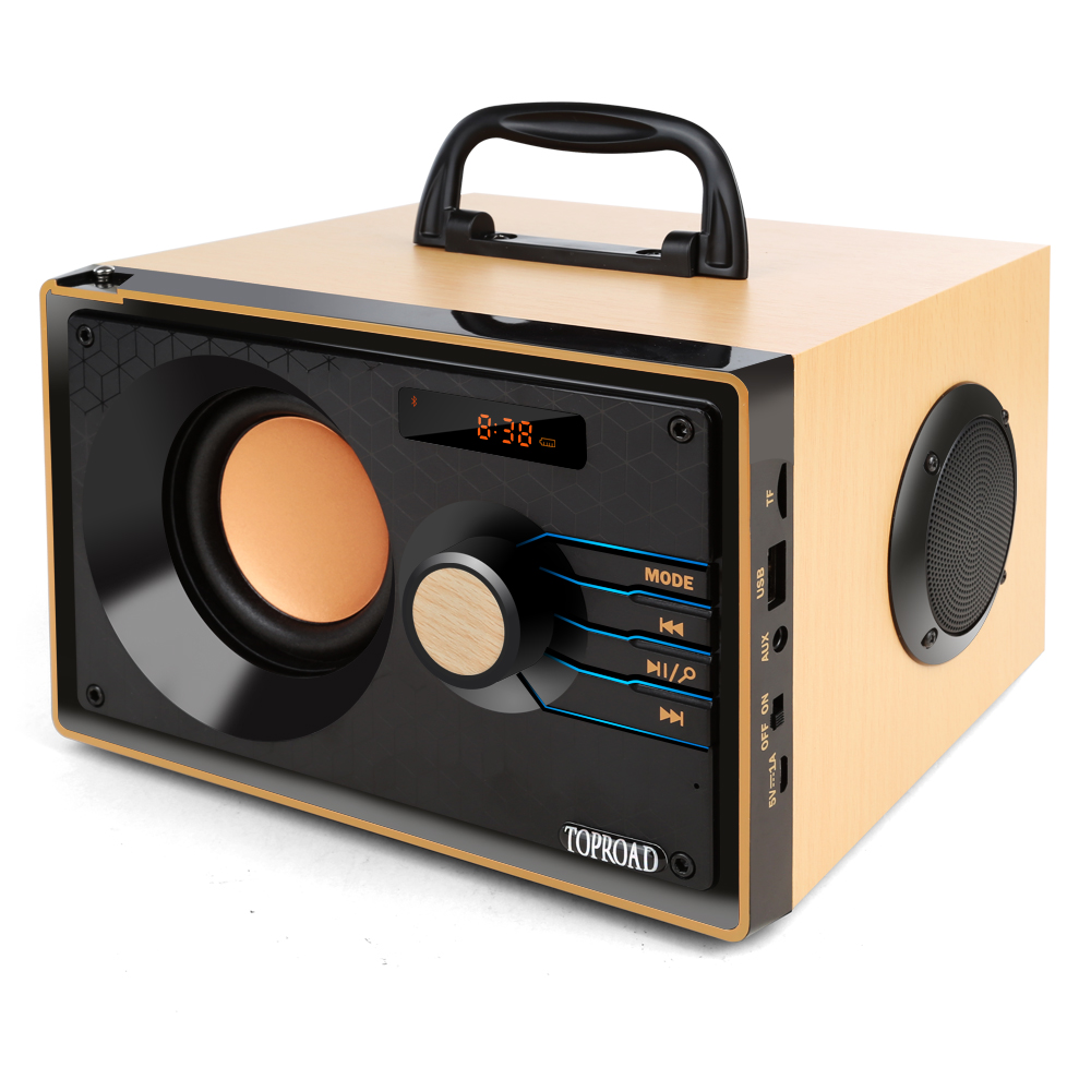 Wireless Bluetooth Speaker Stereo Subwoofer Heavy Bass Speakers Music Soundbox With Remote Control Support FM TF AUX USB