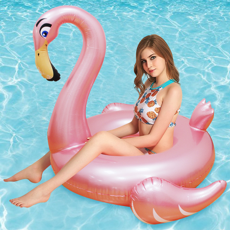 YUYU Inflatable flamingo swimming ing Swimming Float flamingo Tube Raft Adult Giant pool Float Summer Water Fun Pool Toys