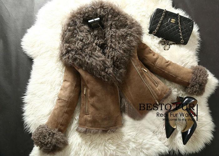 Popular Lambskin Coats-Buy Cheap Lambskin Coats lots from China ...