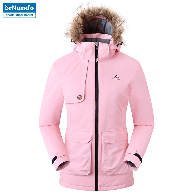 2018 New Outdoor Waterproof Ski Jacket Women Windproof Snowboard Coat Snow Female Thermal Hiking Skiing Ski-wear Jacket Clothes escam wnk403 plug and play wireless nvr kit p2p 720p hd outdoor ir night vision security ip camera wifi cctv system