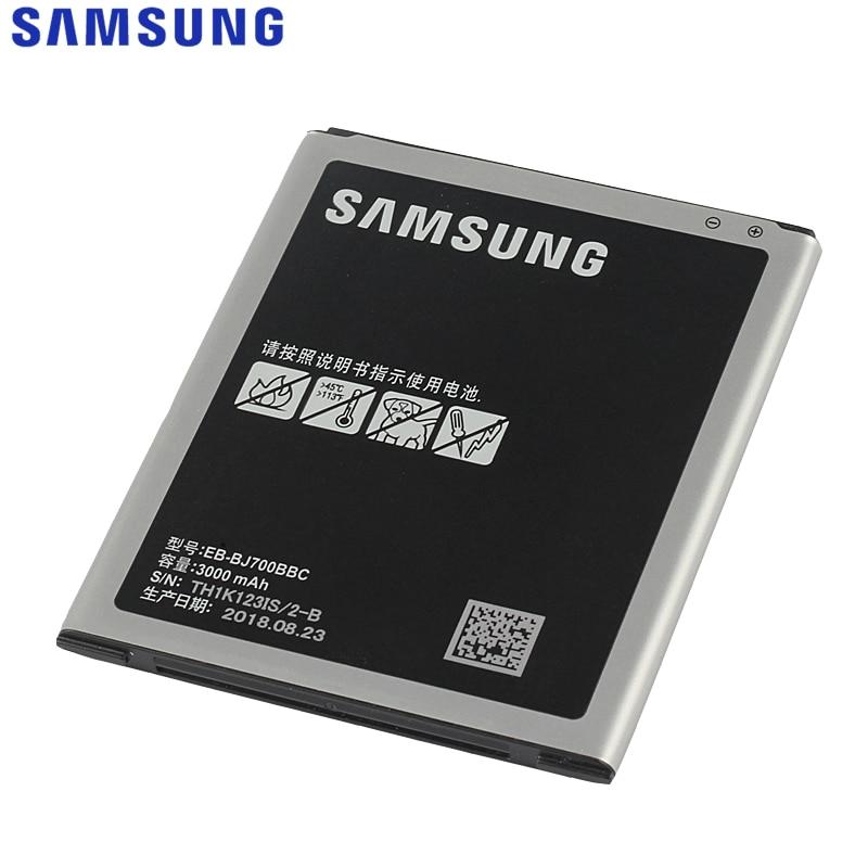 Bateria original do telefone samsung para galaxy j7 2015 j7009 j7000 j7008 j700f SM-J700f EB-BJ700BBC EB-BJ700CBE com nfc 3000 mah