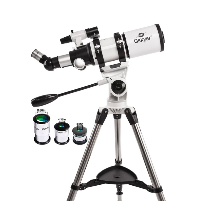 Gskyer Telescope 80mm AZ Space Astronomical Refractor Telescope German Technology Scope for beginer and promotional зонты doppler зонт