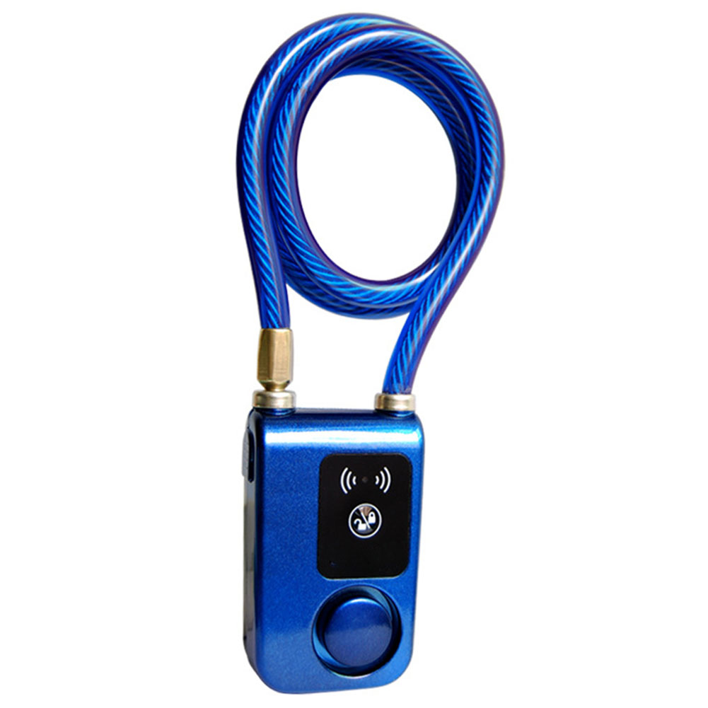 Smartphone Bluetooth Steel Anti Theft Lock Bicycle Waterproof Chain Remote Control Smart