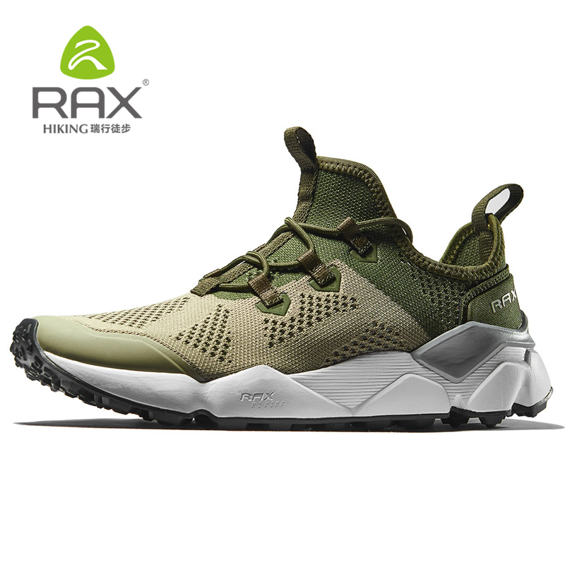 Rax New Mens Running Shoes Breathable Running Sneakers Athletic Jogging Sneakers Men Women Trainers Air Mesh