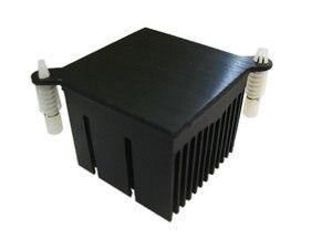 Image 5 - 1 stücke Motherboard chip set kühlkörper 40*40*30mm 59mm aluminium kühlkörper loch abstand north South Bridge kühlkörper