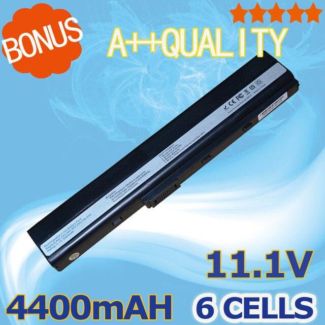 4400mAh Laptop Battery For Asus 70-NXM1B2200Z A31-K52 A32-K52 A41-K52 A42-K52 A52 A52F A52J A52JB A52JK A52JR K42  K42F K42JB