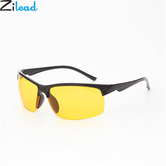 c243fef2ddab Zilead Men Polaroid Sunglass Brand Yellow Lens Driving Night Vision Sun  Glasses Goggles Outdoor Sports UV400 Eyewear oculos