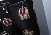 Elastic Waist Pants Trousers 2