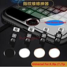 Newest Solve Fingerprint Error For iPhone 7 7G 7p 8 8p 8 plus Home Button Key Flex Ribbon Repair Fingerprint Problem