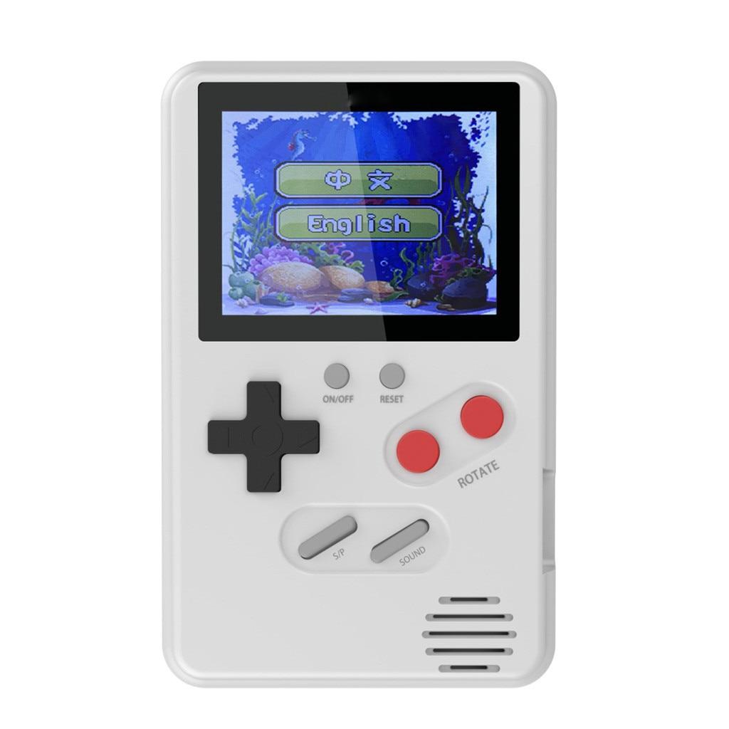Mini LDK Video Game Console Retro Handheld Game Players Portable Console HD Children Retro Consola Boy Tetris 168 Built-in 2.4
