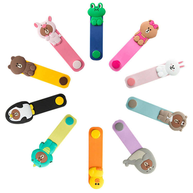 Consumer Electronics Punctual 10pcs/lot Lovely Rilakkuma Bunny Cony Frog Cartoon Cable Winder Headphone Earphone Cable Wire Organizer Cord Holder Cable Winder