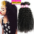 Brazilian Curly Hair 3 Bundle Deals 8A Grade Virgin Unprocessed Human Hair Rosa Hair Products Brazilian Curly Weave Human Hair