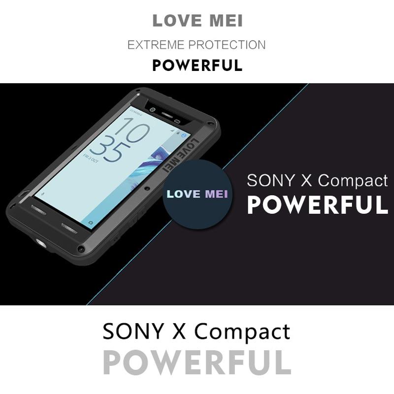 imágenes para Para Sony Xperia X Caja Compacta De Aluminio Cubierta Para Sony X Caja Compacta Carcasa A Prueba de agua A Prueba de Golpes Protector Duro Caso Fundas