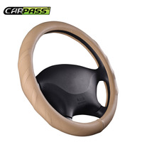 Car Pass Leather Car Steering Wheel Cover For Mazda 3 2 Mazda 6 Axela CX