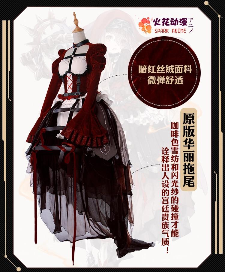 Anime sinoalice Caperucita Roja Cosplay traje altamente reducción monjes  uniforme + vestido + headwear + el velo + Calcetines en de en  AliExpress.com ... 32b040656edb