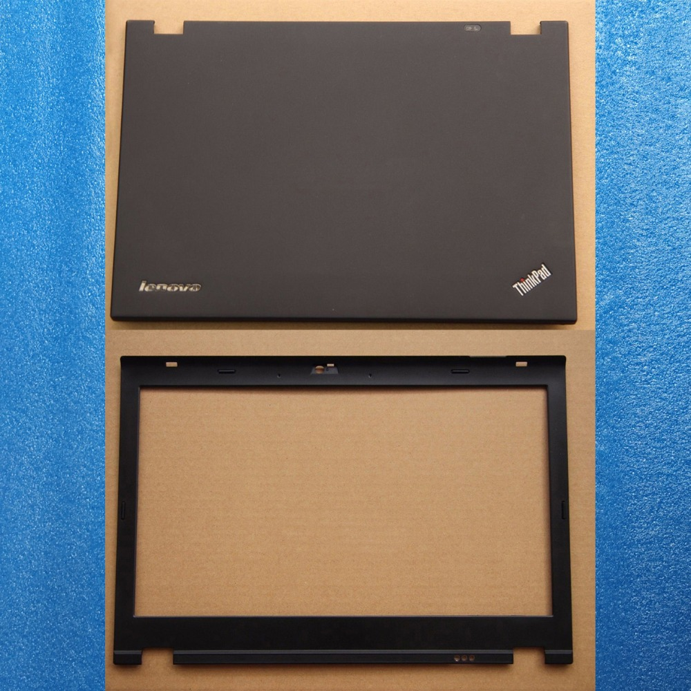 original Lenovo thinkpad T420 T420i Lcd top rear cover and front bezel 04W1608 04W1609