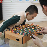 Mini Table Football Soccer Hey Game Toy Desktop Sports Entertainments Family Set Playing Fun Toy Kids Gift