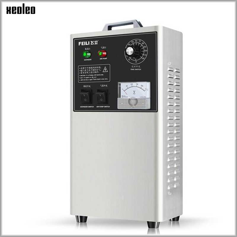 XEOLEO Ozone generator removal formaldehyde Small ozone Disinfection machine 2G/H Air purifier for Water & food sterilization недорого