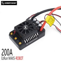 HobbyWing EzRun Max5 ROBOT 200A Brushless ESC 110KG Level Race Fighting Robot fit 110KG, 60KG, 13.6KG Weapons