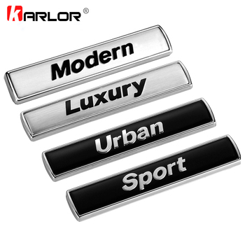 2pcs Luxury Modern Urban Sport Refit Car Auto Fender Tail Emblem Badge Sticker for BMW E46 E39 E90 E60 E36 E30 E34 F30 F10 F20 image