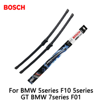 2pcs Lot Bosch Car AEROTWIN Wipers Windshield Wiper Blades Dedicated Wipers For BMW 5series F10 5series