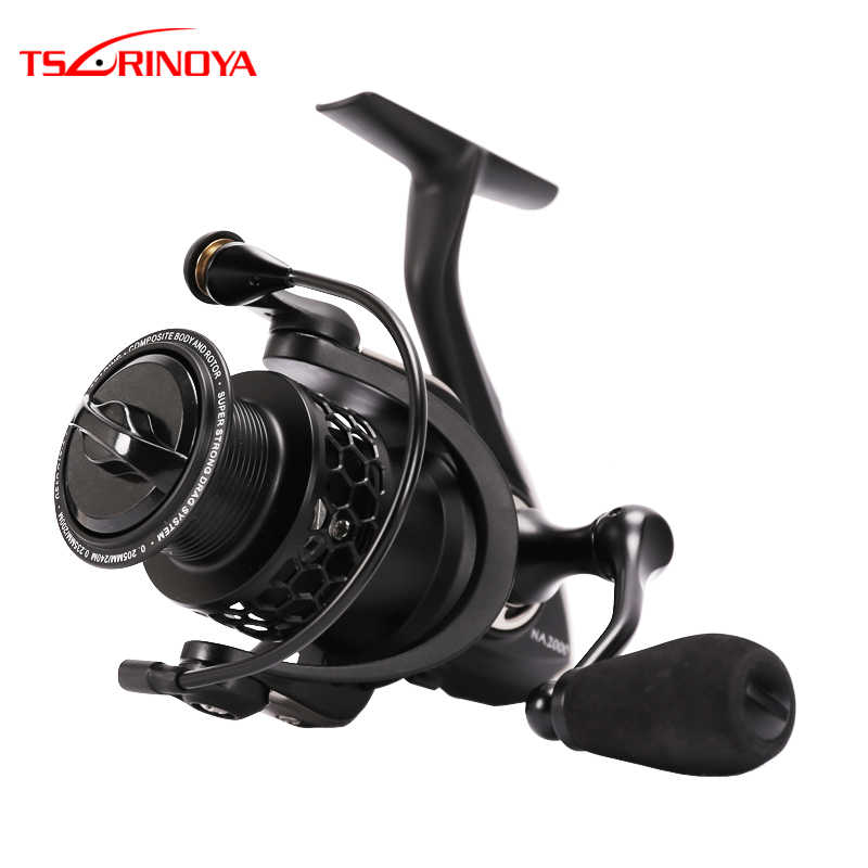 Tsurinoya NA2000/3000/4000/5000 Spinning Reel 9BB/5.2: 1 Full Metal Saltwater Lure Fishing Reel Carretes Pesca Molinete Peche