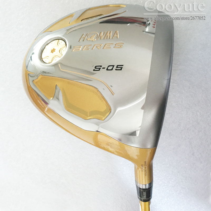 New Golf clubs HONMA S-05 4 Star Golf driver 9.5 or 10.5 loft Graphite Golf shaft R or S Flex driver Cooyute Free shippingNew Golf clubs HONMA S-05 4 Star Golf driver 9.5 or 10.5 loft Graphite Golf shaft R or S Flex driver Cooyute Free shipping