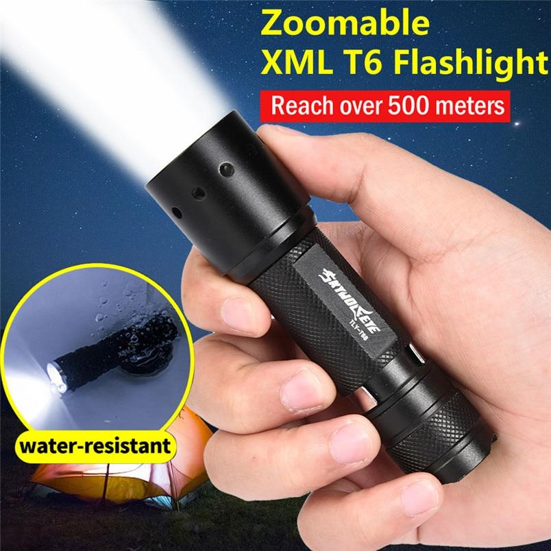 Lights & Lighting Responsible Led Flashlight T6 Holiday Lighting Torch Flashlight Night Hunting Fishing Tactical 18650 Battery Charger Free Shipping #nn27#tc
