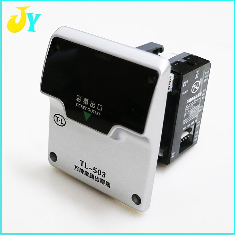 Brillant Tl-503 Universal Digital Ticekt Dispenser Digitale Display Ticekt Lotterie Druckgerät Fahrkartenautomaten