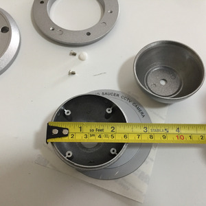Image 5 - Carcasa de Metal para cámaras domo, carcasas de cámara CCTV de seguridad para AHD IPC CCD PCB 38x38mm, placa de chips