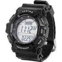 Spovan multifuncional à prova d' água esportes homens relógio digital altímetro barômetro termômetro previsão do tempo cronômetro relógio de pulso