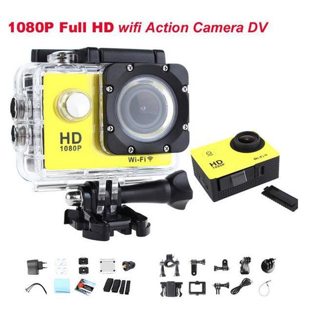 GOLDFOX 1080p Waterproof Sports Recorder Car DV Action Mini Camera  HD Camcorder 12MP Sport Video Camera Digital Photo Cameras