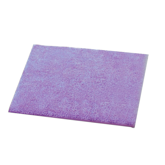 EHOMEBUY 2018 Rugs Leisure Plush Spliced Carpets Light Purple Children  Adults Bedroom Floor Solid Color Spring
