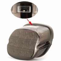 Rauch Objektiv LED Brems Rückleuchten Für harley FLST FLSTF schwanz licht FLSTSB FLSTC 00-08 touring schwanz licht