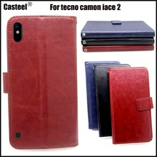 Casteel Classic Flight Series high quality PU skin leather case For Tecno Camon iAce 2 Case Cover Shield