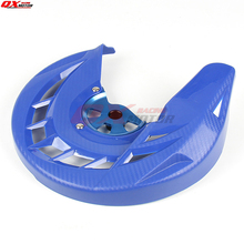 Motorcycle Front Brake Disk Protector Cover Protection Cover For YZ125 YZ250 02-18 YZF250 YZF450 03-13 WRF250 03-17 WRF450 07-15 все цены